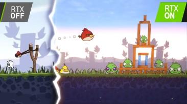 Трассировка лучей и птицы в ремейке Angry Birds на Unreal Engine 4