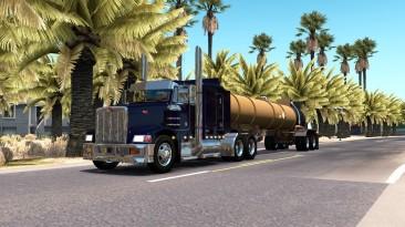"American Truck Simulator ""Прицеп Lubbock Tanker в собственность"""