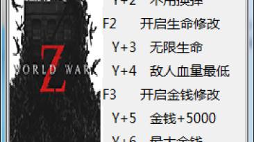 World War Z: Трейнер/Trainer (+10) [5726020] {peizhaochen}