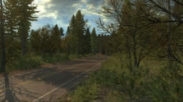"American Truck Simulator ""Мод Late Autumn/Early Winter v2.2 (1.33)"""