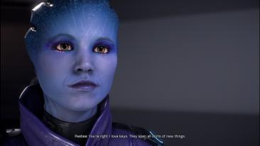 """Mass Effect: Andromeda """"Unmasked Peebee"""""""