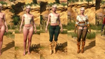 "Witcher 3: Wild Hunt ""Curvy Ciri"""