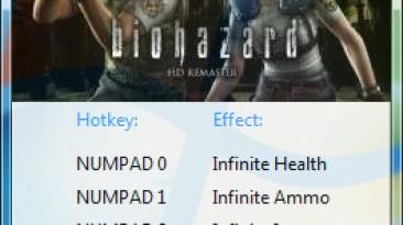 Resident Evil / Biohazard HD REMASTER: Трейнер/Trainer (+5) [1.0] {GRIZZLY / PlayGround.ru}