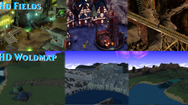 "Final Fantasy 7 ""HD текстуры"""