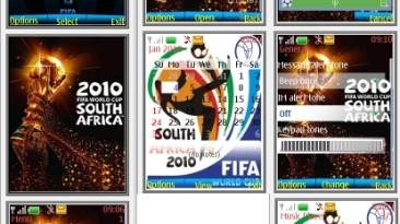 "2010 FIFA World Cup: South Africa ""Тема для телефонов Nokia s40 240x320"""