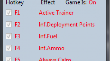 Wargame: Red Dragon: Трейнер/Trainer (+9) [16.10.03] {MrAntiFun}