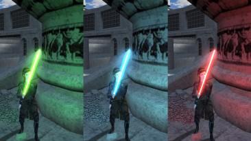 "Star Wars: Knights of the Old Republic ""Переработка световых мечей"""