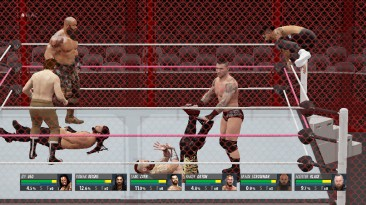 """WWE 2K16 """"Красная клетка (Hell In A Cell)"""""""