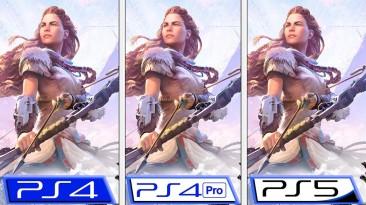 Сравнение Horizon Zero Dawn после патча демонстрирует высокую производительность, четкую картинку и другое на PS5