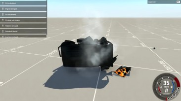 Опасные прыжки на ссоветском автопроме - BeamNG.drive
