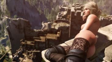 """The Witcher 3 """"Голые девушки с обновленной грудью"""""""