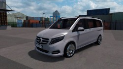 "American Truck Simulator ""Мод Mercedes-Benz Vito V Class 2018 v3.0 Fix (1.39.x)"""