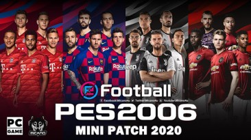 """PES 6 """"eFootball PES 2020 Edition Mini Patch"""""""