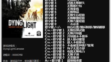 Dying Light: The Following - Enhanced Edition: Трейнер/Trainer (+28) [1.10.0 - 1.12.1] {FLiNG}
