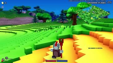 16 минут геймплея Cube World