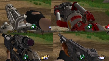 "Serious Sam 2 ""Serious Sam HD Weapons"""