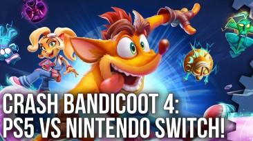 Digital Foundry сравнила Crash Bandicoot 4 на PS5 и Nintendo Switch