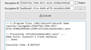 Assassin's Creed: Valhalla: Конвертер Сохранений / Save Games Converter (ACSaveTool)