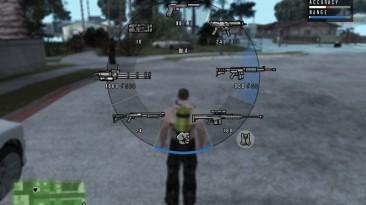 "Grand Theft Auto: San Andreas ""GTA V HUD by DK22Pac v0.925"""