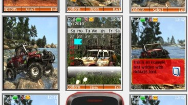 """Off-Road Drive """"Theme for Nokia s40 240x320"""" by Yurax"""