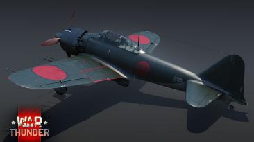 Японский истребитель A6M6c скоро в БП War Thunder