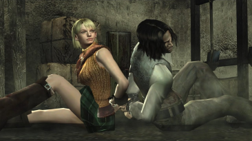 """Resident Evil 4 """"Эшли вместо Леона"""" (разные скины и 18+)"""