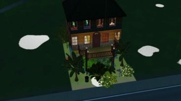 """Sims 3 """"Дом Тропический чердак"""""""