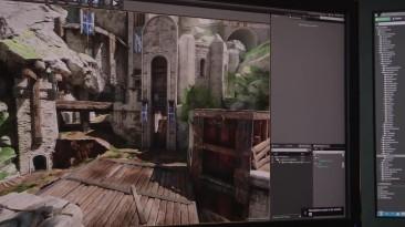 Новое видео от разработчиков Unreal Tournament с демонстрацией уровня Titan Pass