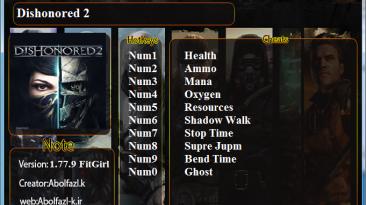 Dishonored 2: Трейнер/Trainer (+10) [1.77.9.0] {Abolfazl.k}