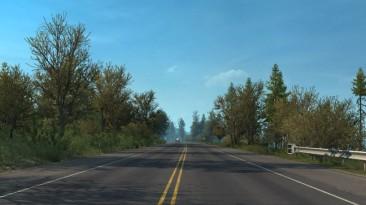 "American Truck Simulator ""Поздняя осень / ранняя зима v2.6 (1.38)"""