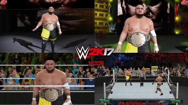 """WWE 2K17 """"Samoa Joe WWE 2K19 Port MOD"""""""