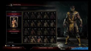 Все костюмы Скорпиона (Mortal Kombat)