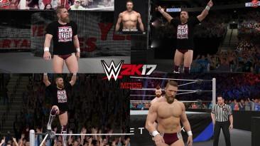 "WWE 2K17 ""Daniel Bryan AEW Наряд (Лицевая анимация) WWE 2K19 Порт Мод"""