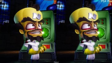 Сравнение графики - Crash Bandicoot N. Sane Trilogy PC vs PS4 Pro