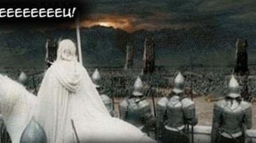 "Lord of the Rings ""Уморительный комикс по фильму"""