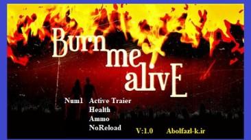 Burn Me Alive: Трейнер/Trainer (+3) [1.0] {Abolfazl.k}