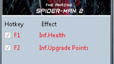 The Amazing Spider-Man 2: Трейнер/Trainer (+2) [1.0.0.1] {MrAntiFun}