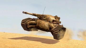 "Танк V-уровня ""Мародёр"" для игры World of Tanks Blitz"