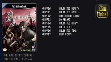 Resident Evil 4 - Ultimate HD: Трейнер/Trainer (+8) [1.06] {LIRW / GHL}