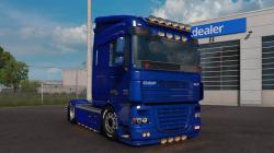"Euro Truck Simulator 2 ""Мод DAF XF 105 v1.0 [Koseoglu] (1.39.x)"""