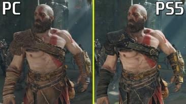 Сравнение графики God of War (2018) на ПК и PlayStation 5
