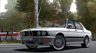 "City Car Driving ""BMW M5 E28 1988 (v1.5.9 - 1.5.9.2)"""
