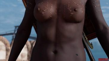 "Assassin's Creed: Origins ""Kensa Topless Mod"""