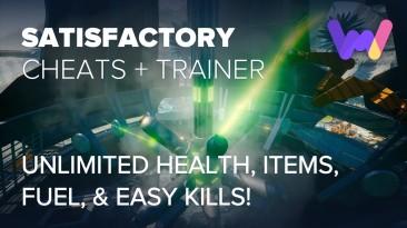 Satisfactory: Трейнер/Trainer (+7) [UPD: 11.11.2019: Epic Store] {MrAntiFun / WeMod}