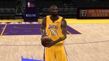 "NBA 2K10 ""Kobe Bryant Cyber Face Update"""