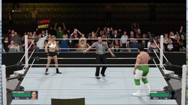 """WWE 2k16 """"Ronda Rousey 2k19 port final version"""""""