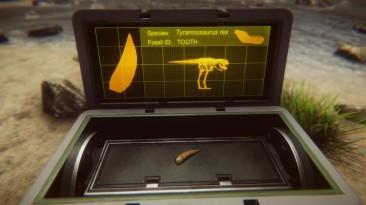 Анонсирующий трейлер Dinosaur Fossil Hunter
