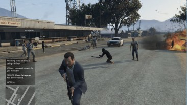 """Grand Theft Auto 5 """"Multiplayer Co-op 0.8.1"""""""