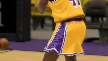 "NBA 2K12 ""LA Lakers 98 Shoes Pack"""