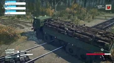 Spintires: MudRunner карта Дорога в СССР